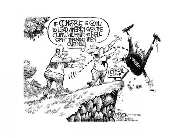 fiscal-cliff-cartoon-darkow-cagle-2012